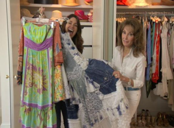 What's in Susan Lucci's Closet?