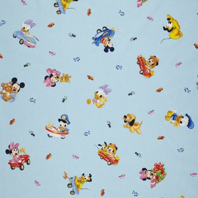 Disney fabric, €14,95 per meter, 100%CO - www.kidsfabrics.eu