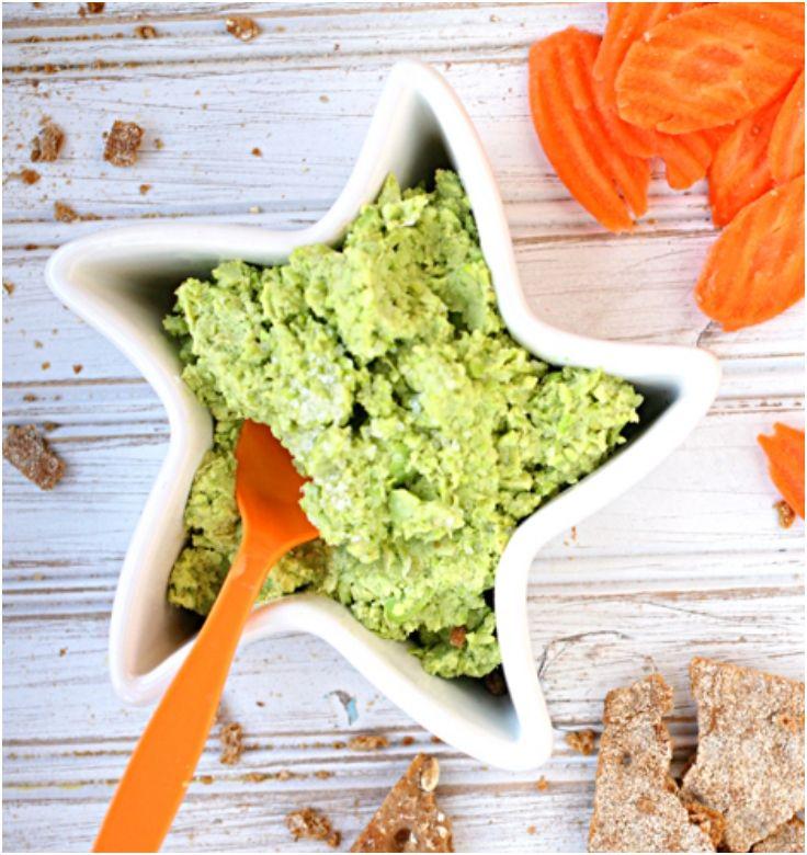 Edamame Hummus | Healthy Habits | Pinterest
