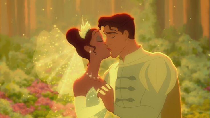 "Princess Tiana and Prince Naveen | Disney Couples Tiana  Prince Naveen in ""The Princess and the Frog"""