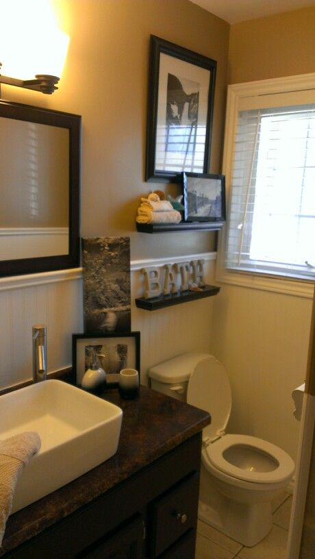 Bathroom remake for the home pinterest for Kitchen remake