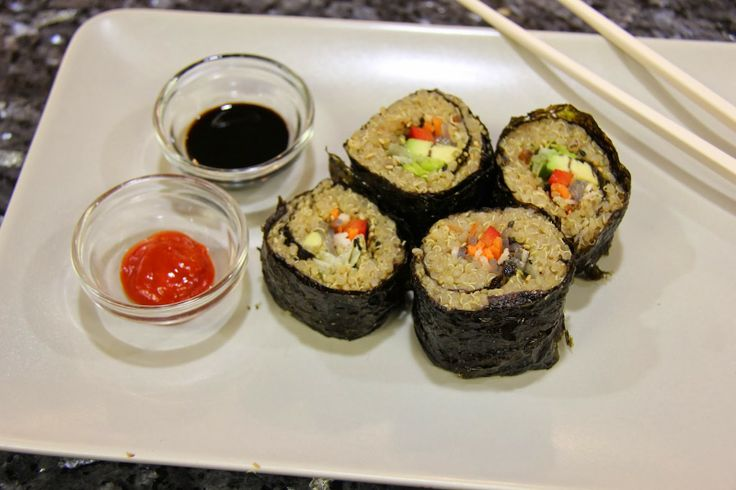 Quinoa Sushi | Food | Pinterest