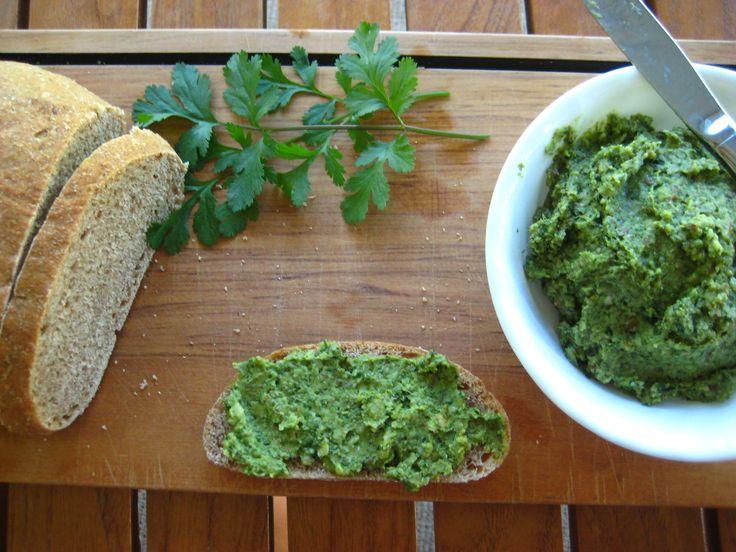 Cilantro Pesto Spread | Vegan Dressings, Sauces and Marinades | Pinte ...