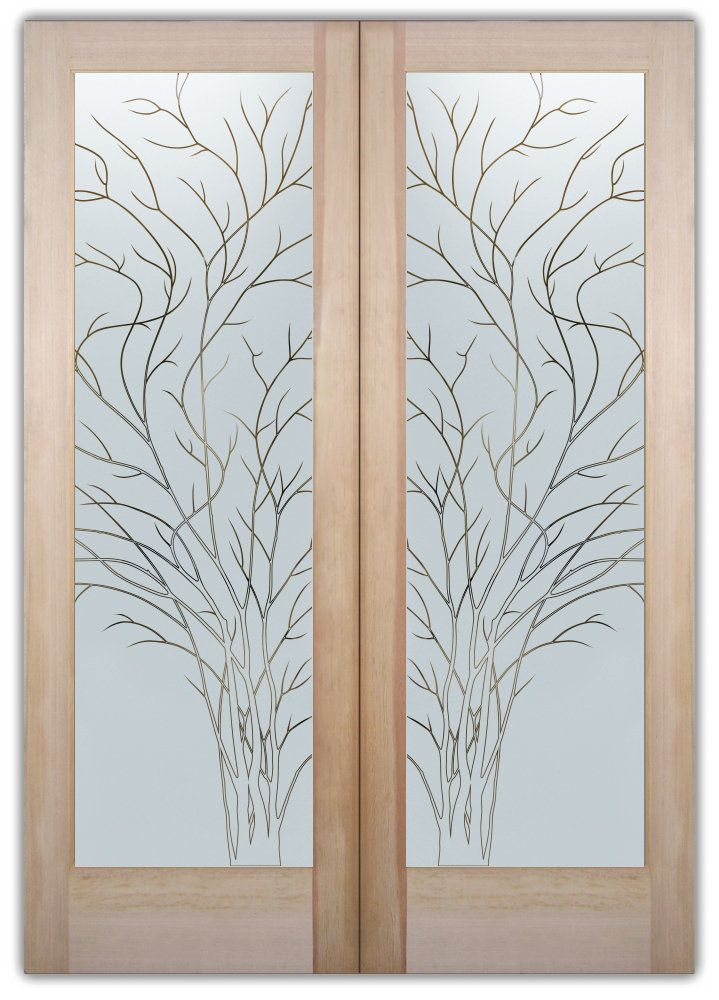Pin By Sans Soucie Art Glass On Double Entry Doors Frosted Glass Do