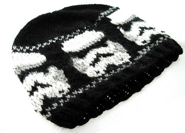 Star Wars Knitting Patterns : knit Star Wars hat Star wars Pinterest