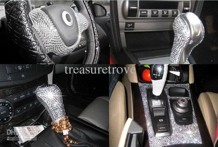 Bling ot out car accessories pinterest for Car inner decoration