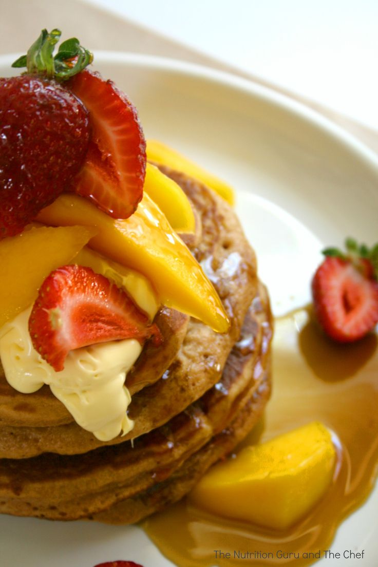 Sunday Morning Pancakes (1) From: The Nutrition Guru And The Chef ...