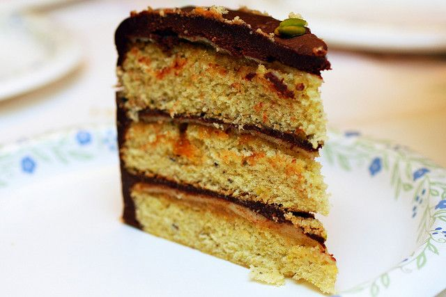 Pistachio Petit-four cake...I used store bought marzipan dough (from ...
