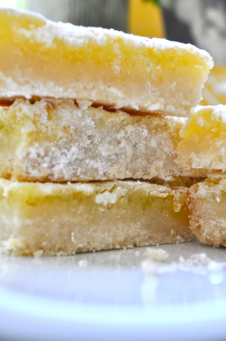 Lemon Bars...YUM! | Dessert Tables | Pinterest