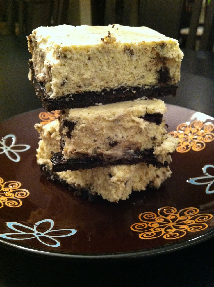 Cookies and Cream Cheesecake Bars | Gluten Free Recipes for Me to Try ...