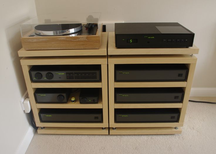 Rack for Meuble chaine hifi ikea