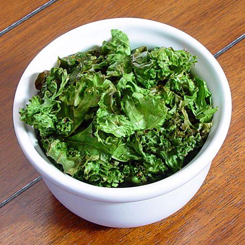 Baked Crispy Kale Chips Recipe