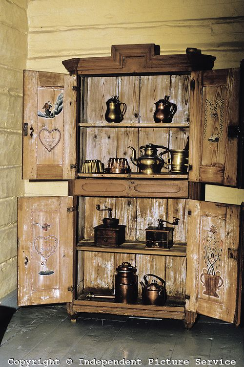 19th century kitchen cabinet 1800s pinterest