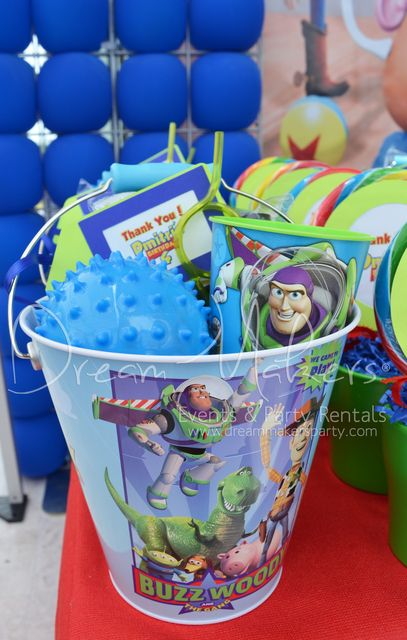 Fun favors from a toy story party see more party ideas at