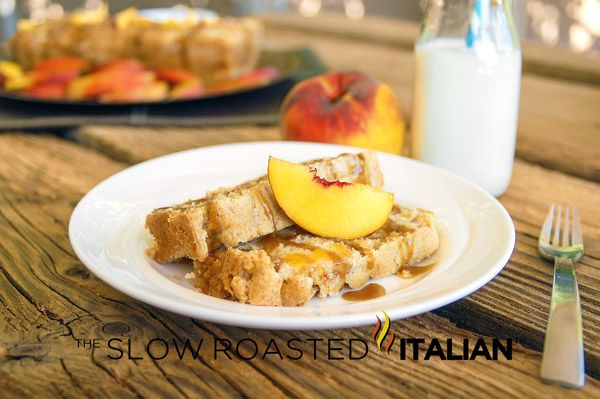 The Slow Roasted Italian: Peach Cobbler Pound Cake