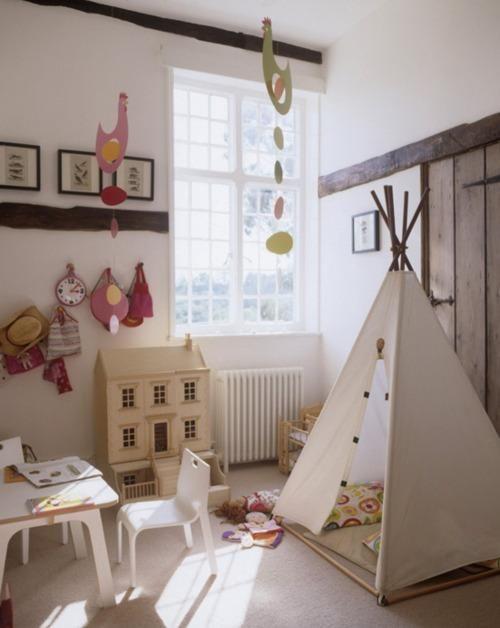 Teepee Playhouse #Kidsroom