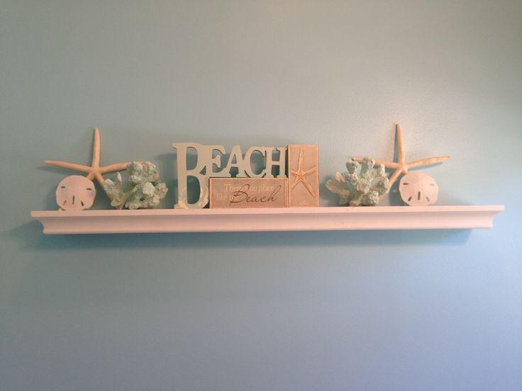 Beach Theme Bathroom Shelf Bathroom Ideas Pinterest