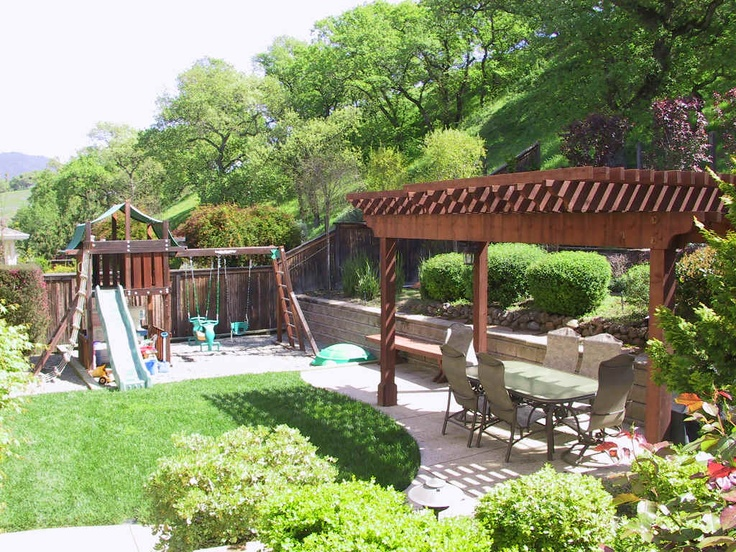 Ideas for backyard play structures