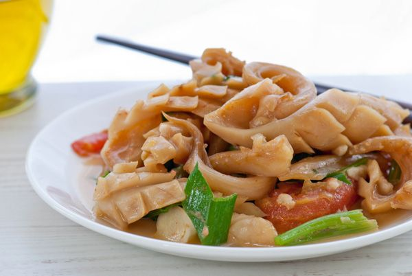 Squid And Celery Stir Fry Recipe — Dishmaps