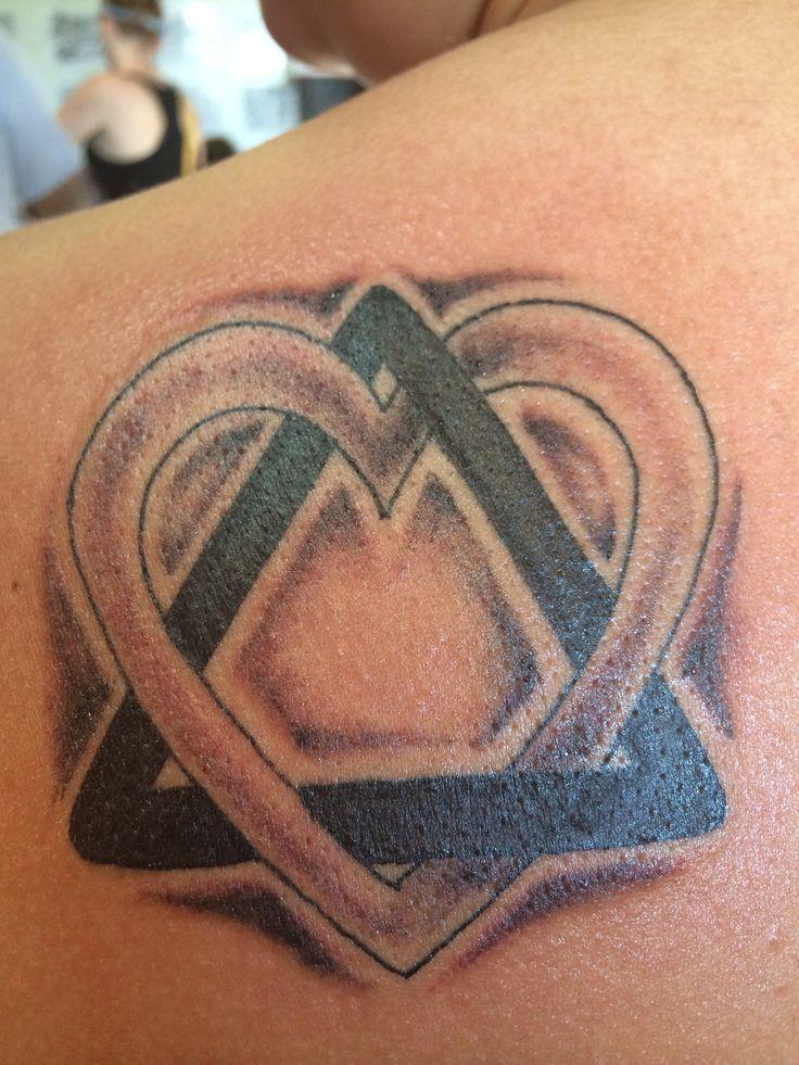Adoption tattoo unique takes on the adoption symbol for Adoption symbol tattoos
