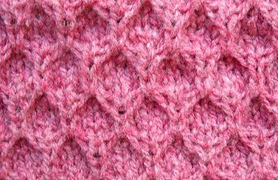 Sl Stitch In Knitting : Mock honey comb stitch pattern