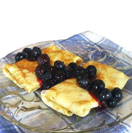Bob's Blueberry Blintzes | Dessert - Sweet temptations | Pinterest