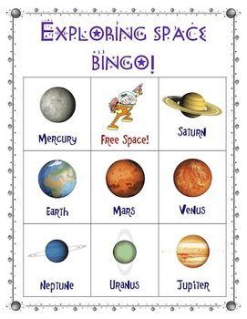 astronomy bingo - photo #21