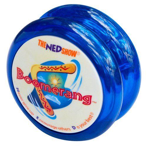 Boomerang Yo-Yo (Blue) | Yoyos | Pinterest