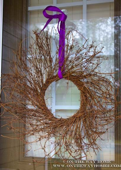 Wreath for lent.
