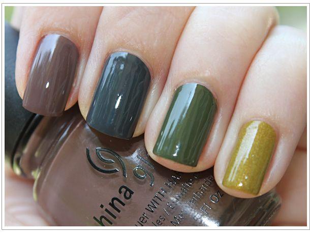 China Glaze Metro colors- ooooh, love them!