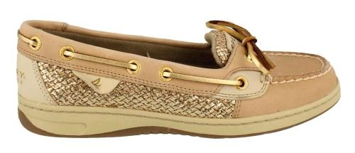 Sperry Angelfish Leather Womens Boat Shoes Flat Heel   eBay