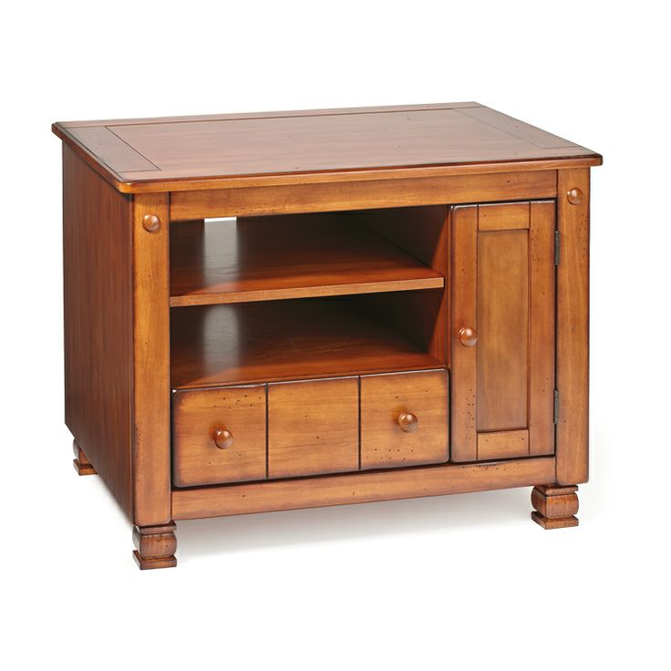 Tv Stand With Oak Finish Old Time Pottery Pinterest