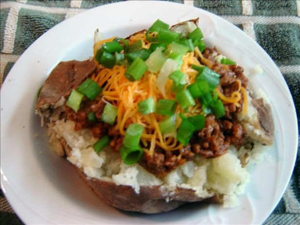Taco Baked Potatoes | Recipe