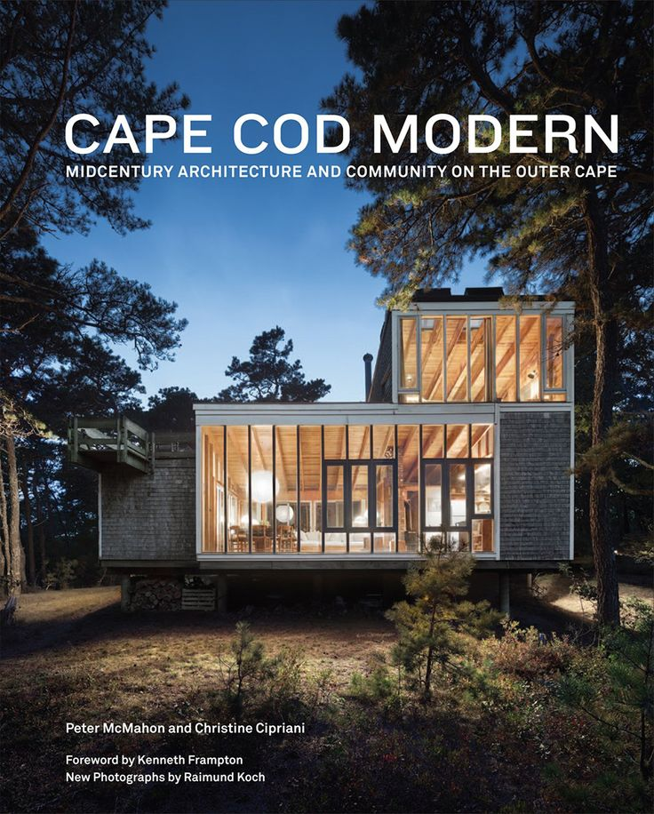 News book club cape cod modern green oak house for Cape cod style homes nz