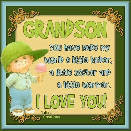 I Love My Grandson Quotes. QuotesGram - 94.2KB