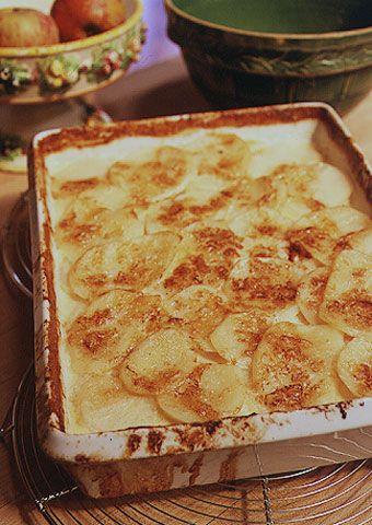 potato gratin.
