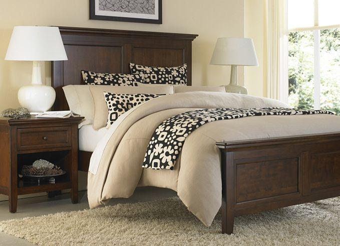 panel bed frame home pinterest