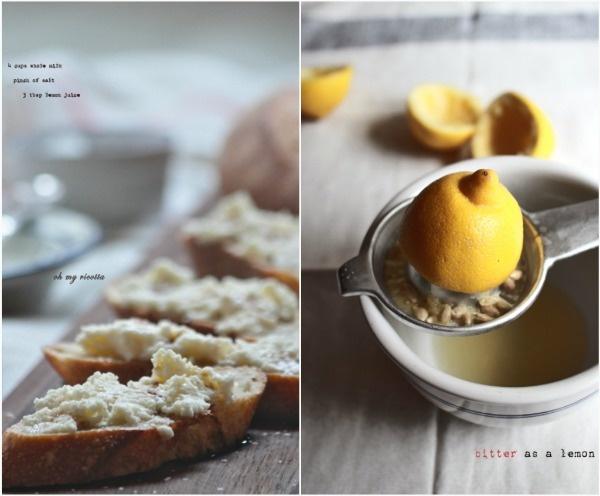 fresh homemade ricotta | New Recipes- Snacks | Pinterest