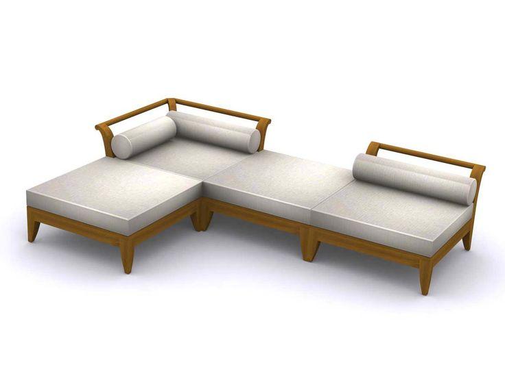 Teak Patio Daybed Set Westminster Teak Outdoor Furniture