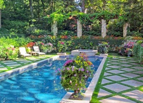 great backyard!  Pools & Spas  Pinterest
