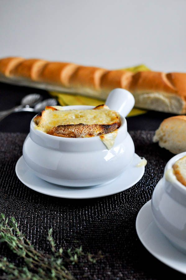 crock pot french onion | Soup Season | Pinterest