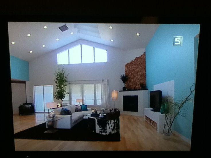 woonkamer met hoog plafond  Dream home  Pinterest