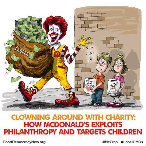 Clowning Around With Charity How Mcdonalds Exploits Philanthropy