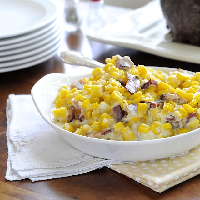 ... …Where food, family and friends gather.: 212. Creamy Parmesan Corn