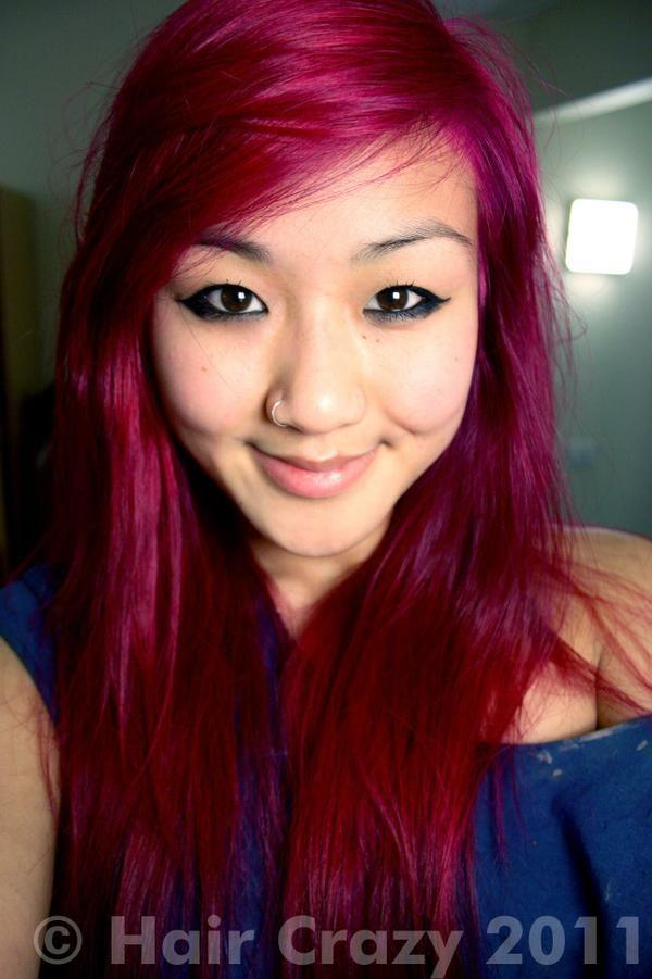 Dark pink hair.   Hair - Color   Pinterest