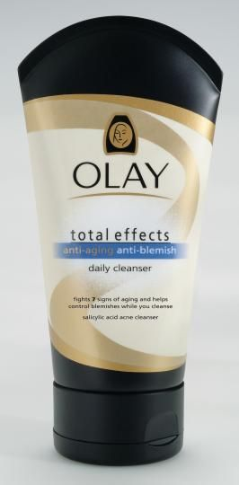 Olay total effects cream cleanser blemish control for rosacea prone