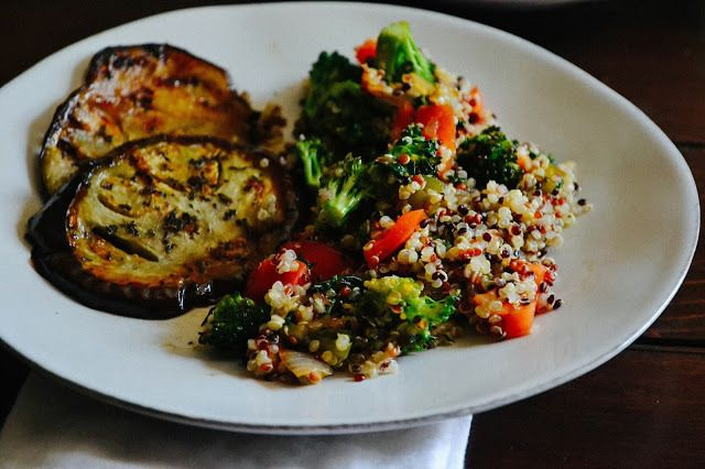 Sweet Herb Eggplant + Vegetable Quinoa by Josh and the Beanstalk. A ...