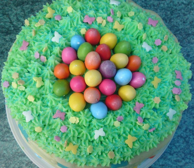 Easter egg cake | Cakes, cupcakes & decorating | Pinterest