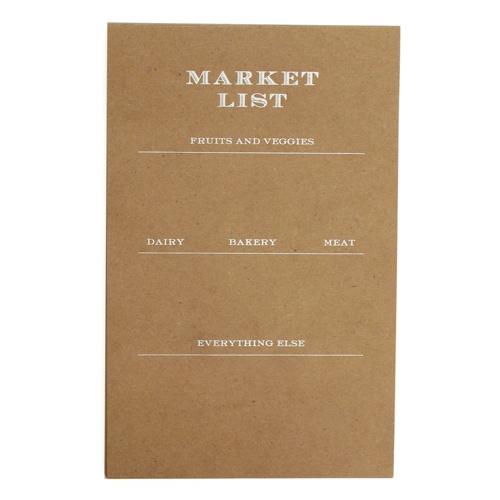 market list   sugar paper la