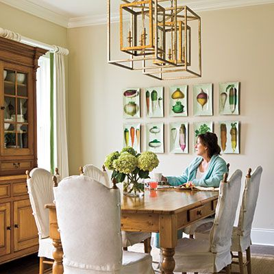 Dining Room on Veggie Art   Dining Room Ideas